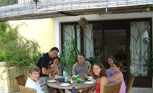 host family nice